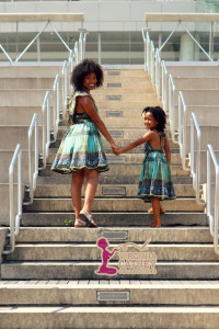 Mommy & Me 1 - Ethnic Printed Sundresses - head to head not close