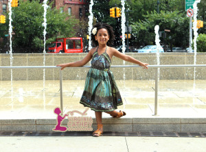 Mommy & Me 1 - Little Ethnic Printed Sundress - Standing off look